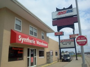 Amsoil dealer Ches Cain's Synthetic Warehouse