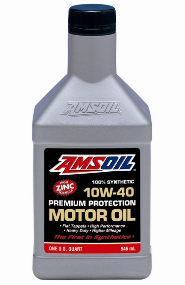 Amsoil 10w 40 Synthetic With Zinc Old Car Best Seller
