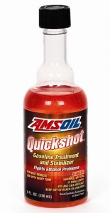 AMSOIL Quickshot 8 ounce bottle
