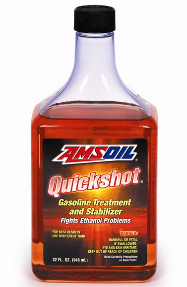 Ethanol problems stop with AMSOIL Quickshot