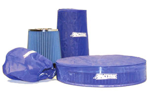 Best selling cold air intake filters present a major advantage over K&N and other oil wetted gauze.