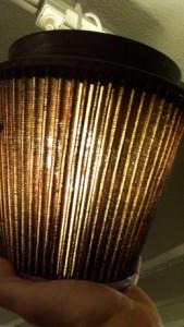 K&N air filter - Lots of natural holes.
