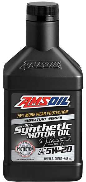 Updated AMSOIL Dexos Gen 2 5W-20 Signature Series 100% Synthetic
