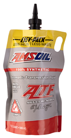 Amsoils automatic transmission fluid. Legendary eye-opening protection.