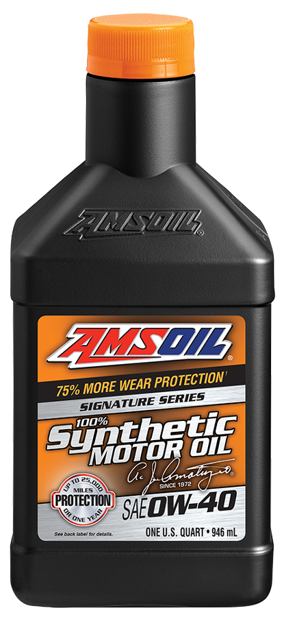 Amsoil signature Series 0W-40