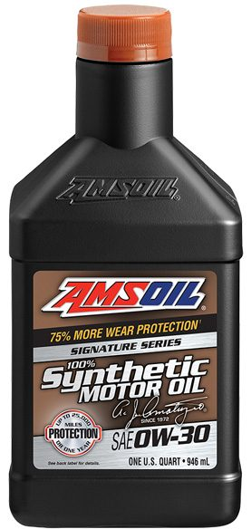 Step up to AMSOIL 0W-30 today and enjoy the better performance today!