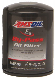 Amsoil replacement bypass oil filters EABP-90, EABP-100, EABP-110 and EABP-120