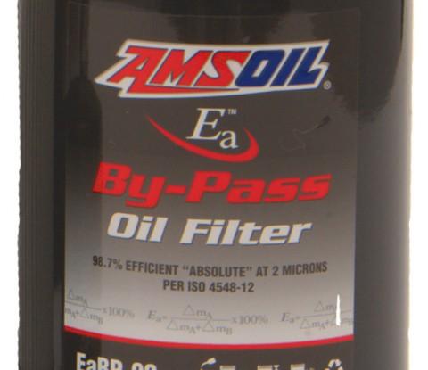 Amsoil replacement bypass oil filters EABP-90, EABP-100, EABP-110 and EABP-120