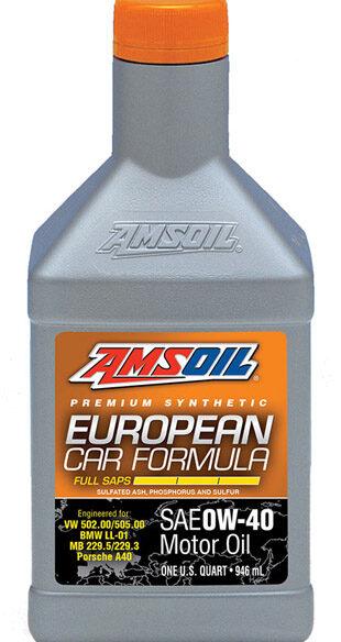 European 0W-40 Synthetic Oil