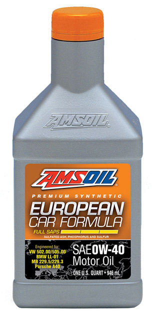 European 0W-40 Synthetic Oil