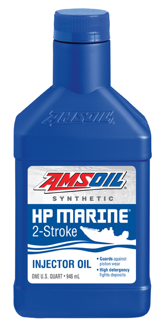 Amsoil HP Marine 2-cycle injector oil