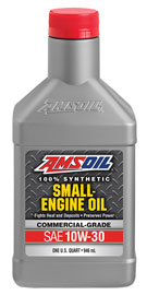 Small Engine 10W-30 motor oil; SAE 30