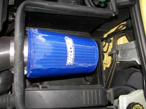 Pre-cleaner intake filter covers.