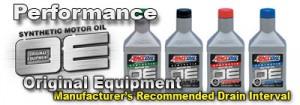 AMSOIL original equipment synthetic motor oil