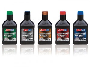 AMSOIL Signature Series line of 100% synthetic motor oils