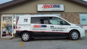 Ultimate AMSOIL Dealer Busines - Office, retail sales outlet and AMSOIL Van