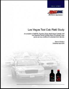 las vegas taxi cab oil study