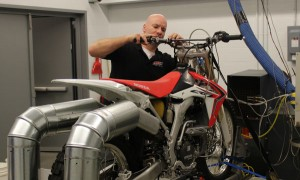 Len Groom tests amsoil dirt bike oils