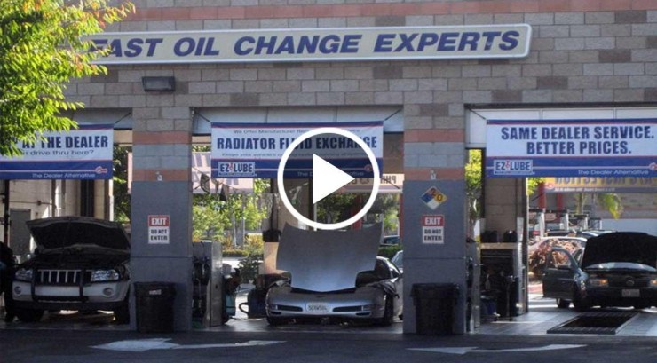 Oil change center