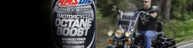 amsoil octane boost for motorcycles
