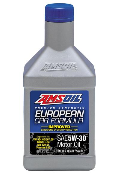 AMSOIL European Car Formula 5W-30