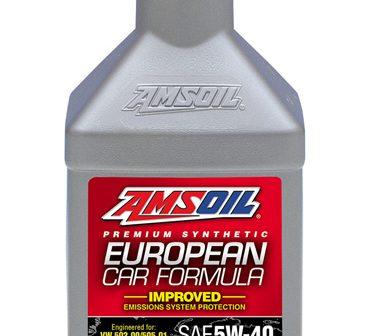 AMSOIL European Car Formula 5W-40 Synthetic Motor Oil