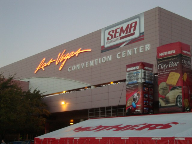 amsoil at SEMA Vegas