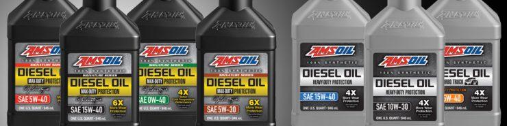 New AMSOIL Diesel Oils for 2017