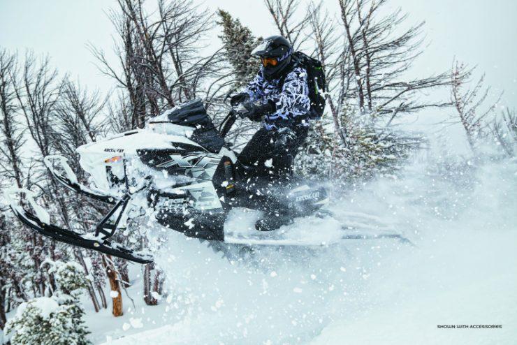 snowmobile in minnesota