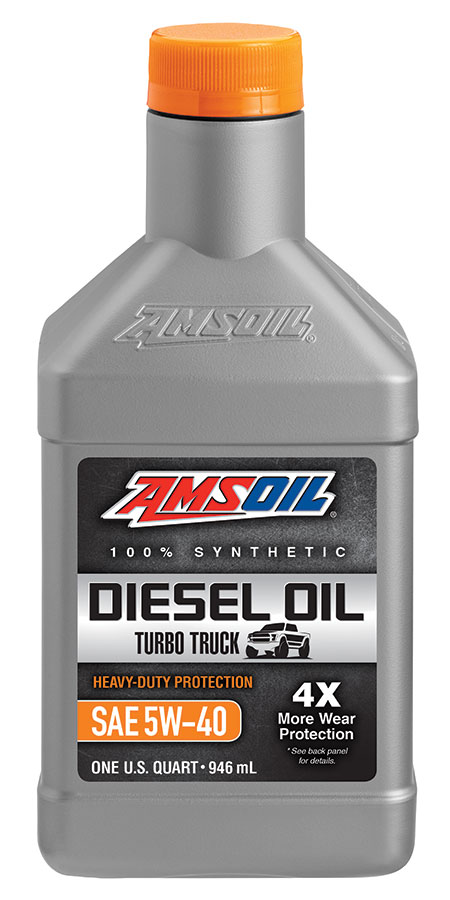 Amsoil Heavy Duty Synthetic Diesel Oil 5w 40