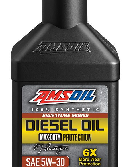 Signature Series Max-Duty Synthetic Diesel Oil 5W-30