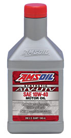 10W-40 Synthetic ATV/UTV Engine Oil