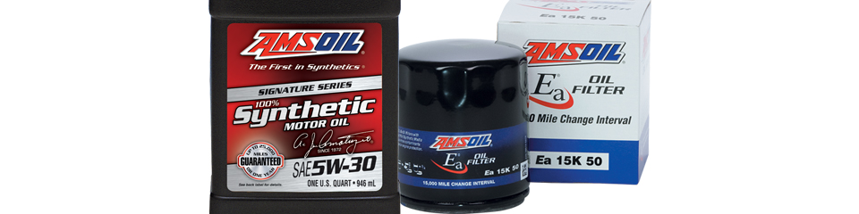 Amsoil oil filters go together well with our oil