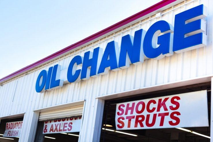 oil change center