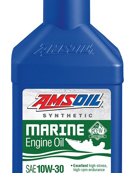 Use in all 10W-30 and 5W-30 marine applications.