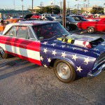 Mopar in American Flag