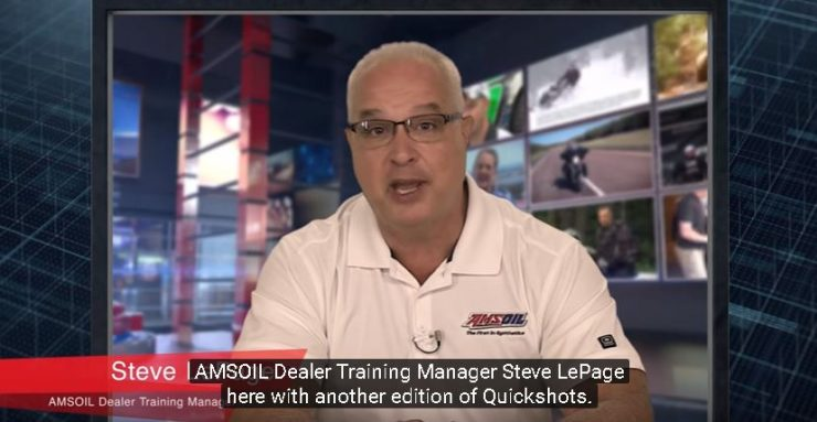 Amsoil Dealer Training Manager Steve LePage