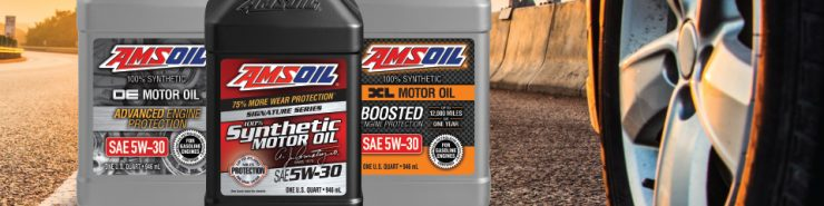 100% Synthetic Line - All the AMSOIL PCMO OIls now