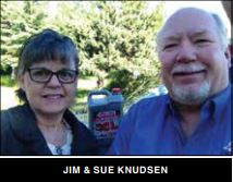 Jim and Sue Knudsen