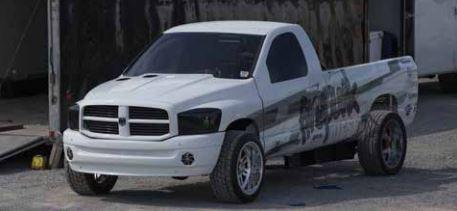 crazy diesel truck