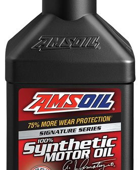 5W-30 Signature Series Synthetic Motor Oil will all the upgrades!