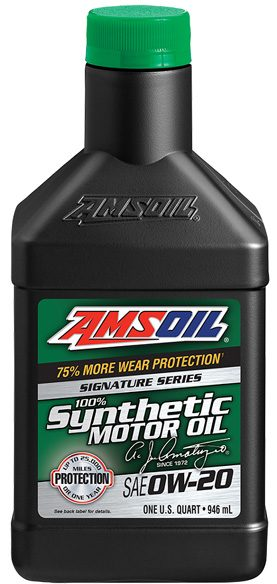 UPGRADED AMSOIL signature series 0W-20 Synthetic