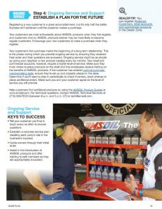 Amsoil dealer game plan document