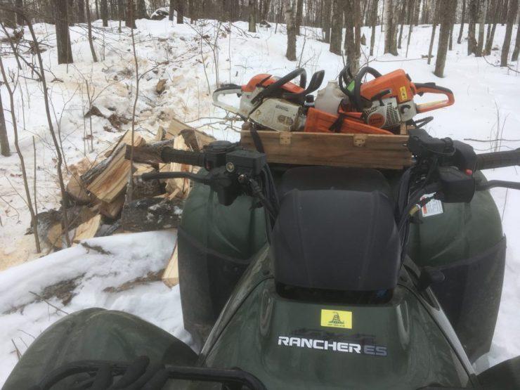 loaded ATV