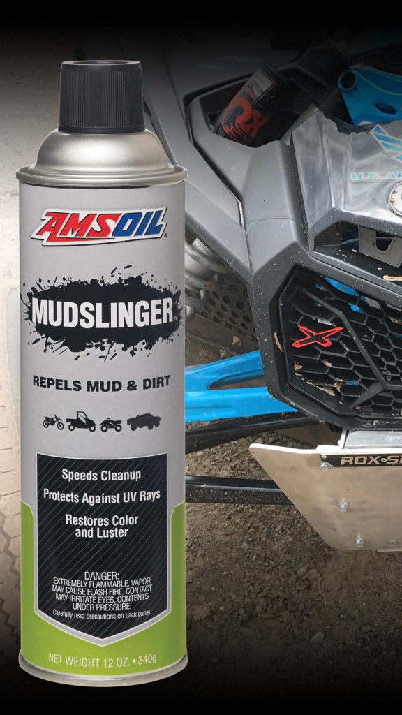 Mudslinger among new products and sprays at AMSOIL