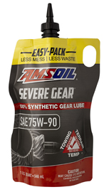 differential oil in a easy pack or squeeze pack