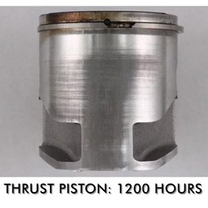 lawn mower piston after using Amsoil