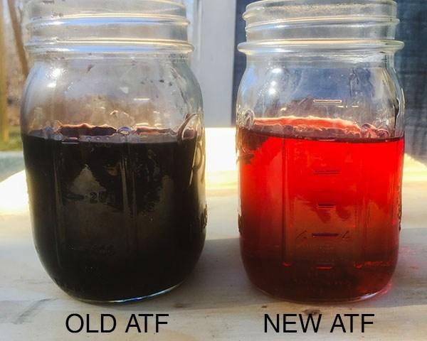 old transmission fluid lifetime fill