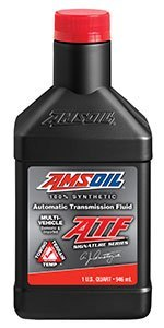 amsoil ATF in the main plastic bottle quart