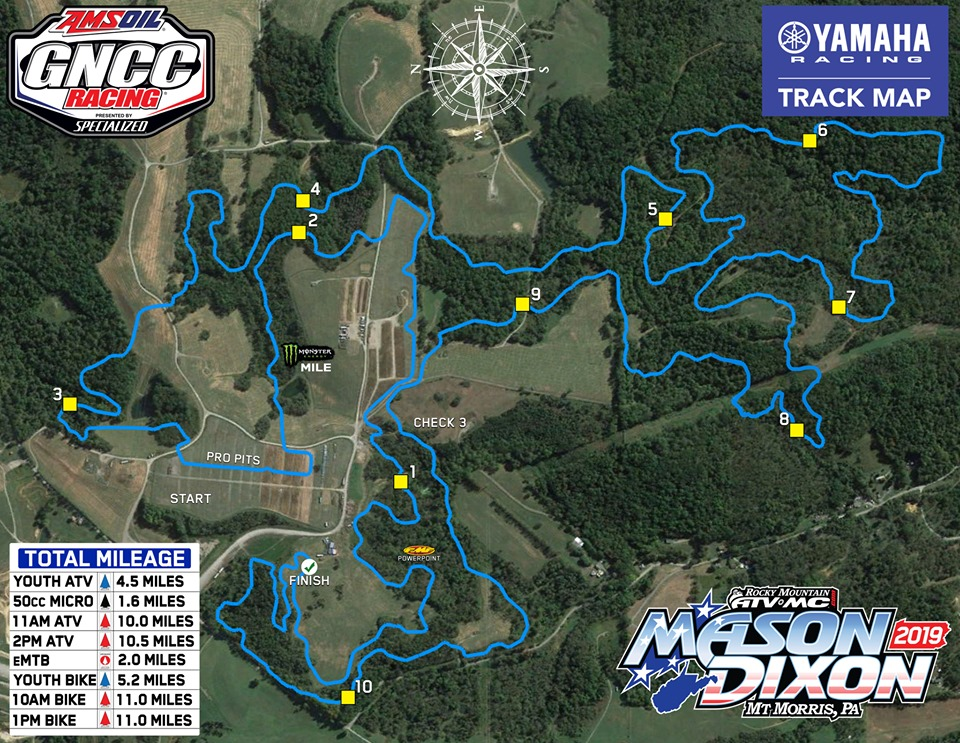 GNCC Mason Dixon map